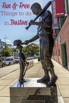 If you're planning to travel to Boston, you might be interested in some free things to do in Boston! Don't forget to pack a scarf if you're visiting in the Fall/Winter.) While the paid activities. Boston In The Fall, In Boston, Visit Boston, Boston Tour, Boston Vacation, Boston Travel, Boston Things To Do, Free Things To Do, Cheap Things