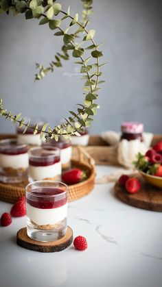 Trifle, Mini Cakes, Easy Cooking, Panna Cotta, Cheesecake, Good Food, Food And Drink, Tasty, Sweets