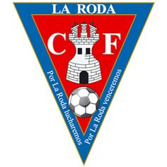 La Roda of Spain crest. Football Team, Soccer, Crests, Club, Spanish, Wheels, The World, Football Equipment, Flags
