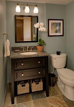 half bath @ Home Improvement Ideas