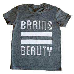 Brains=Beauty T-Shirt NEW!