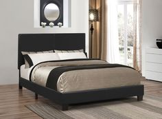 COASTER300558Q-QUEEN BED
