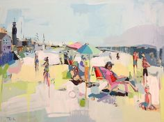 "Perfect way to spend a summer afternoon - teilduncan - 30"" x 40"" commission."