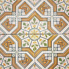Azulejos antigos no Rio de Janeiro: Lapa Xb - rua do Senado