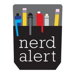 Proud Nerds Unite! We're bringing the pocket protector back for geeks everywhere. Slap this sticker on your laptop, tablet, briefcase...anywhere...and alert the world that a nerd is on the loose!