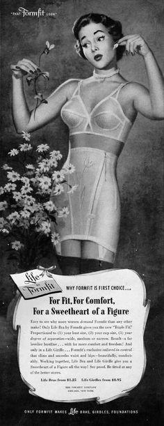 Publicité Vintage - Gaines - Life by Formfit
