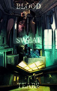 BTS Fanart ❤ 방탄소년단 (BTS) '피 땀 눈물 (Blood Sweat & Tears)' MV #BTS #방탄소년단