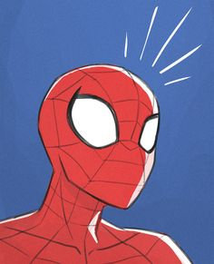 So the show I've been sweating over since 2015 finally aired in the US yesterday, so here's a quick doodle to celebrate! This has been the main reason for my protracted absense, but hopefully it's. Spiderman Drawing, Spiderman Art, Amazing Spiderman, Unique Drawings, Easy Drawings, Avengers Painting, Pinturas Disney, Sad Art, Marvel Wallpaper