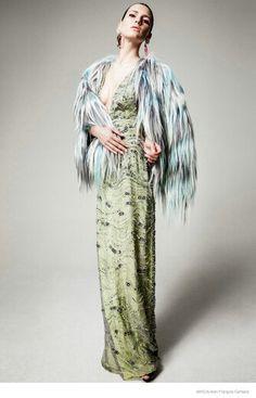 Iana Godnia in Ladylike Looks for Amica by Jean François Campos