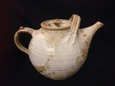 Stunning Very Large Hand Made Pottery Teapot | eBay