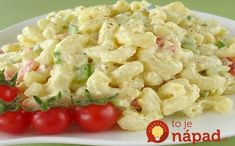 """Salad Macaroni Salad: """"LOVE LOVE LOVE THIS salad! Not too much mayonnaise, lovely crunchy veggies and the dressing is perfect.""""Macaroni Salad: """"LOVE LOVE LOVE THIS salad! Not too much mayonnaise, lovely crunchy veggies and the dressing is perfect. Side Dish Recipes, Pasta Recipes, Cooking Recipes, Drink Recipes, Cooking Tips, Pasta Dishes, Food Dishes, Side Dishes, Food Food"""