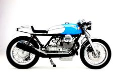 The Moto Guzzi based KaffeeMaschine 5 is one of those cafe racers that comes along every now and...motosphere, KaffeeMaschine 5...The Cafe Racer Cult...