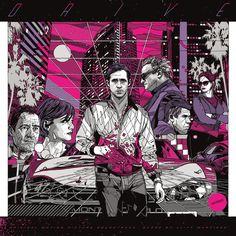 Mondo's Artwork For Their Vinyl Reissue Of The 'Drive' Soundtrack
