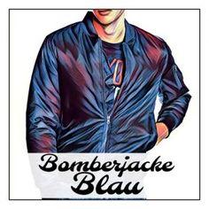 ➥ So kombiniert man Blaue Bomberjacken richtig! | Meine Bomberjacke