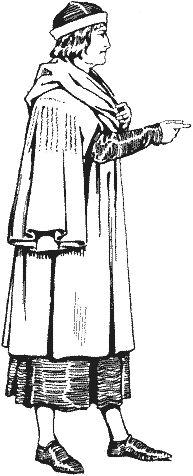 Historie odívání - 13.století, část 4.