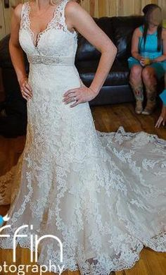 Allure 8634, find it on PreOwnedWeddingDresses.com
