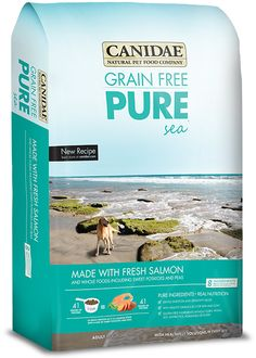 CANIDAE® Grain Free PURE Sea Adult Dog Formula Made With Fresh Salmon | CANIDAE®