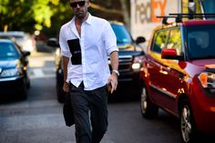 New York Fashion Week Street Style, Day 5 - New York Fashion Week Street Style, Day 5-Wmag