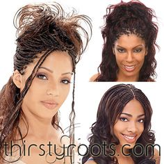 microbraids hairstyles for black women wedding | Atlanta Micro Braids | thirstyroots.com: Black Hairstyles and Hair ...