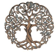Tree of Life Wall Plaque 11 58 Decorative Celtic Garden Art Sculpture Copper Finish Tree Of Life Meaning, Tree Of Life Symbol, Tree Of Life Art, Celtic Tree Of Life, Tree Of Life Logo, Celtic Symbols, Celtic Art, Celtic Dragon, Mayan Symbols
