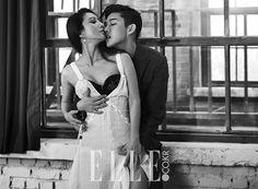 Yoo Ah In and Kim Hee Ae's 'Secret Love Affair' shoot debuts in ELLE