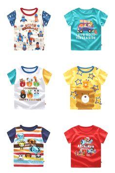Cartoon Print Kids Baby T-Shirt Summer Cheap Baby Boy Clothes, Cute Baby Boy Outfits, Newborn Boy Clothes, Unisex Baby Clothes, Kids Outfits, Baby Boy White Shirt, Baby Boy Suit, Baby Boy Tops, Bermudas