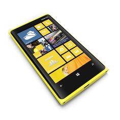 "When you get your hands on the Nokia Lumia 920, you'll discover Windows Phone 8 on the world's sharpest LCD display, a PureMotion 4.5"" HD+ screen, and see your own reaction on the 1.2 MP front-facing camera."