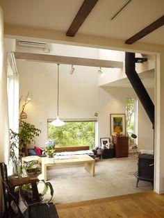 【web 内覧会】違う角度で土間リビングの画像 | Casa de olive ( カーサデオリーブ ) 栃木~ずっと、自…