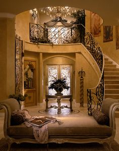 Dream home luxury walkway staircase