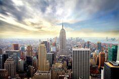 Enchanting New York - Fotobehang & Behang - Photowall