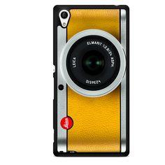 Silver Yelow Leica CameraPhonecase Cover Case For Sony Xperia Z1 Xperia Z2 Xperia Z3 Xperia Z4