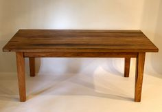 Rustic Hickory Farmhouse Dining Table by Lawtonstudios on Etsy