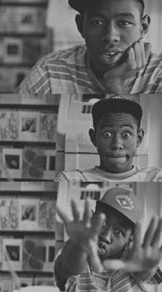 Tyler the creator from Odd Future! Maybe not eye candy, but I would marry him if he rapped to me everyday.