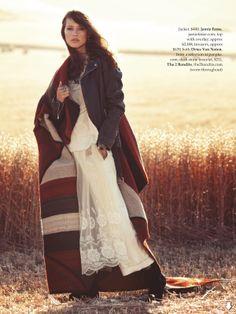 visual optimism; fashion editorials, shows, campaigns & more!: the delinquent: valerija erokhina by stefania paparelli for elle australia may 2014