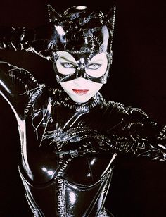 Catwoman Through the Years: Michelle Pfeiffer. How cat woman should look ugh to Anne Hathaway.