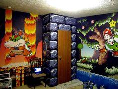 mario kart bedroom room decor - Google Search