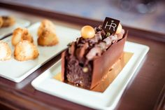 Indulge your sweet tooth with heavenly pastries. Evian Les Bains, Hotel Royal, Chocolate Lovers, Pastries, Heavenly, Sweet Tooth, Pudding, Desserts, Food