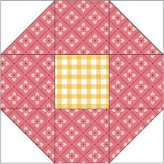 "super easy block! instructions for 12"", 9"", & 6"". Shoofly Quilt Block Pattern"