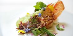 Scallops Recipe With Ibérico Ham & Parsley Foam from chef James Sommerin- Great British Chefs