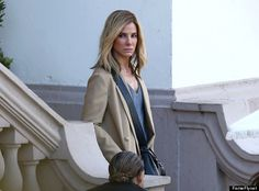 Sandra Bullock Goes Blonde On Set Of Our Brand Is Crisis
