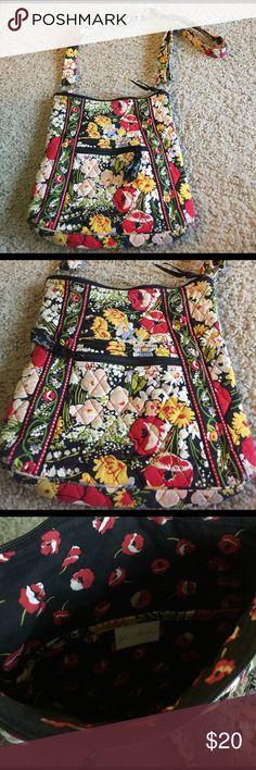 Vera Bradley purse Cross body Vera Bradley purse. Very lightly used. Two outside pockets and inside pockets Bags Crossbody Bags