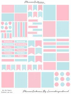 Lavendergarden – Free printable
