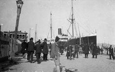 1910'larda Galata Limanı