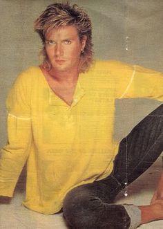 Simon LeBon-Duran Duran - sexiest mullet in history.