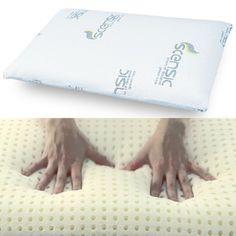 Eine perfekte Punktentlastung und eine optimale Atmungsaktivität – bietet Ihnen das Bio Kissen Scensic Pillows, Mattresses