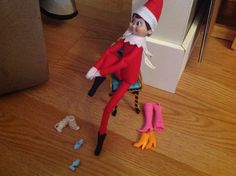 Elf on the Shelf- funny