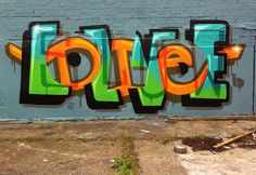 Layered text pieces by Pref
