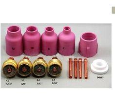 26.04$  Buy here - http://aliymg.shopchina.info/1/go.php?t=32373596684 - No good cheap goods Welding Torch TIG KIT Gas Lens body WP 17 18 26 Series,14PK  #buymethat