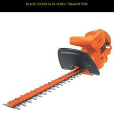 BLACK+DECKER 16 in. Hedge Trimmer TR116 #technology #drone #shopping #fpv #hedge #trimmers #parts #racing #gadgets #kit #plans #camera #tech #products