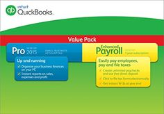 QuickBooks Pro Small Business Accounting Software with Enhanced Payroll 2015 Intuit http://www.amazon.com/dp/B00MEUQF9O/ref=cm_sw_r_pi_dp_BIE1vb07SMNHJ
